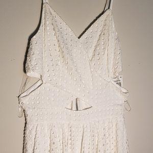 100%cotton White/cream dress by GB size small